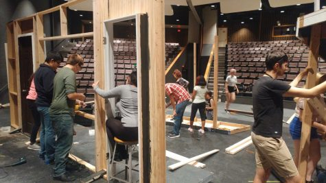 Crew members make the fall play possible