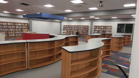 The new media center is almost ready