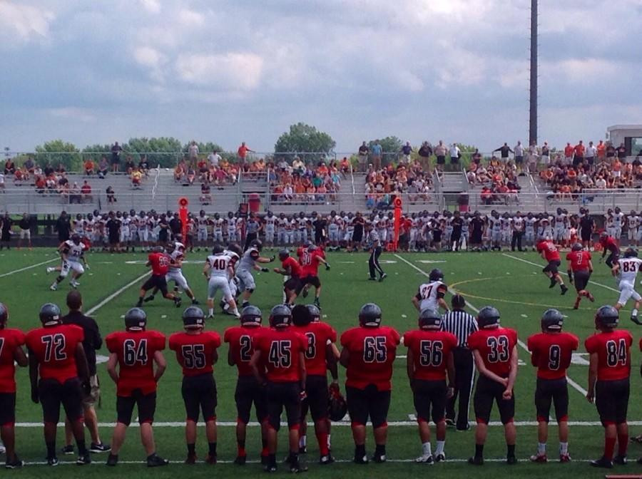 Pirates+face+off+against+Libertyville+on+day+two.
