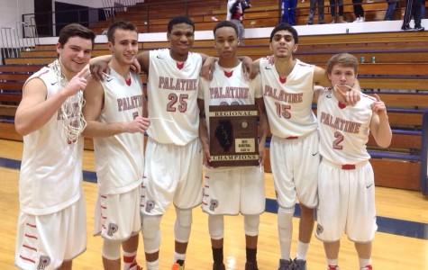 Palatine basketball crowned regional champs