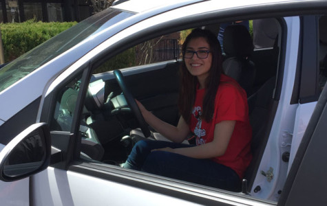 PHS student wins a new car!