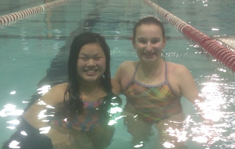 Megan and Molly: the new faces of Palatine swimming
