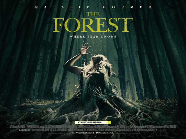 Sara Price (Natalie Dormer) braves a forest to find the truth about her sister.