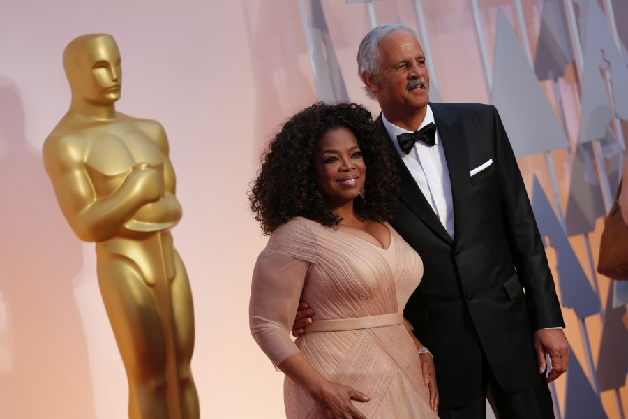 Oprah+Winfrey+and+Stedman+Graham+arrive+at+the+87th+Annual+Academy+Awards+on+Sunday%2C+Feb.+22%2C+2015%2C+at+the+Dolby+Theatre+in+Hollywood.+