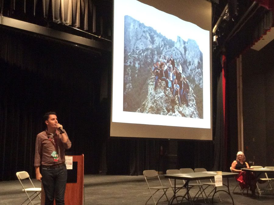 PHS social worker Mario Gonzalez has traveled to 13 countries and lived for two years in Israel.