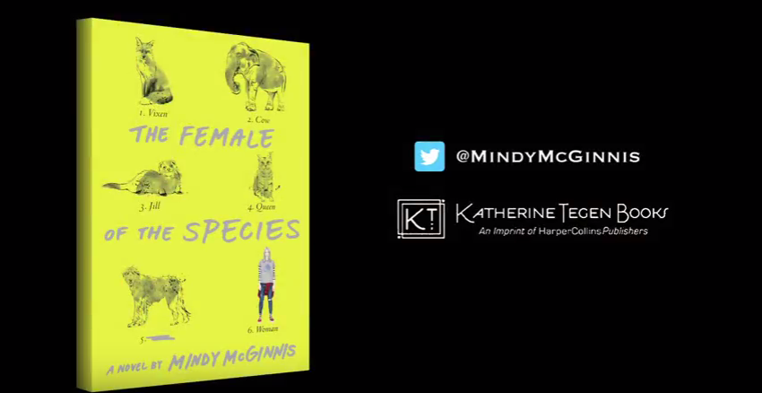 The Female of the Species is the latest book by Mindy McGinnis.