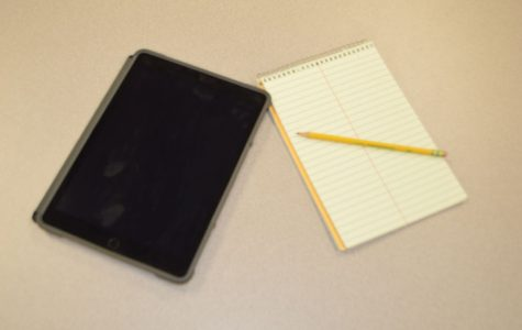 iPads vs. paper and pencil