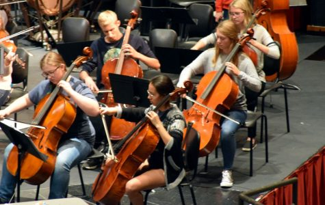 Slideshow: BTS at the Fall Orchestra Concert