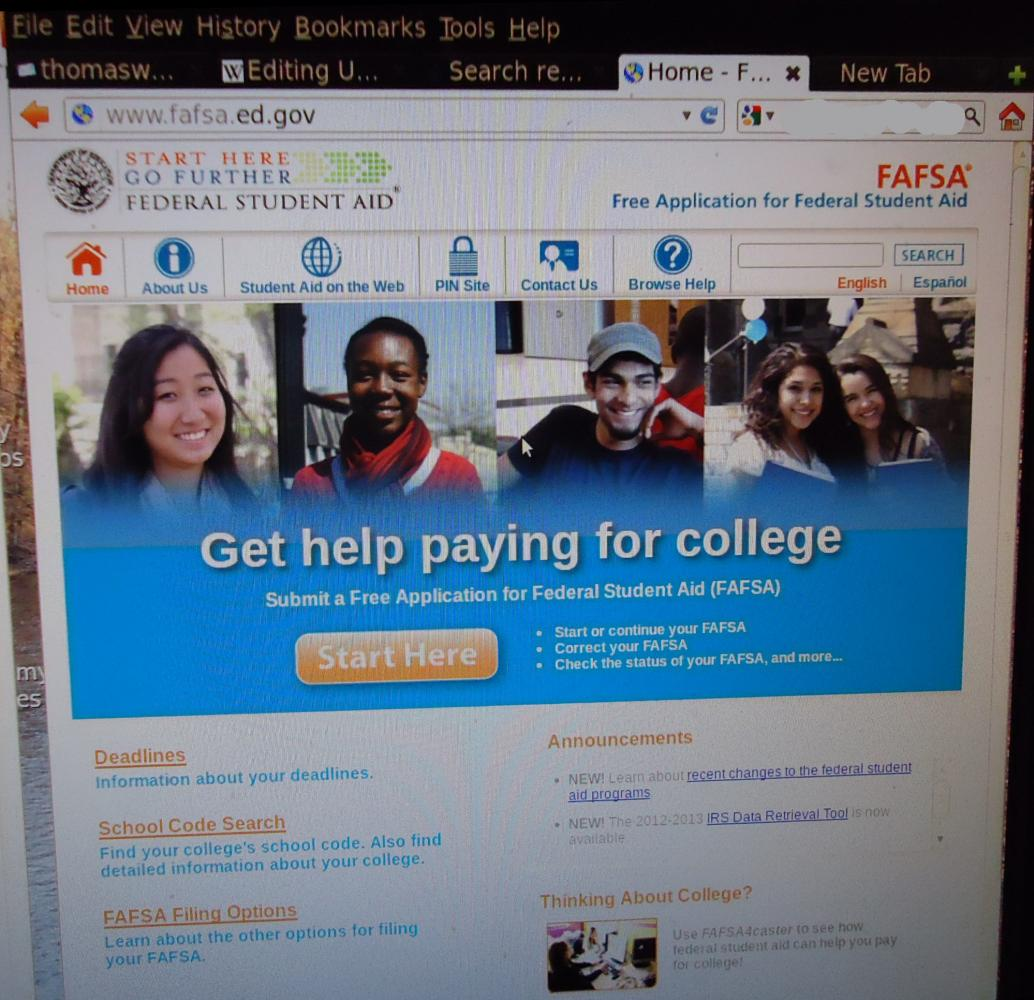 The+FAFSA+is+a+source+of+federal+aid+provided+to+prospective+and+current+college+students.