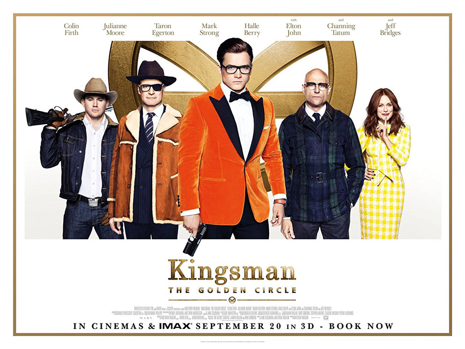 Over the top action of Kingsman sequel will please fans