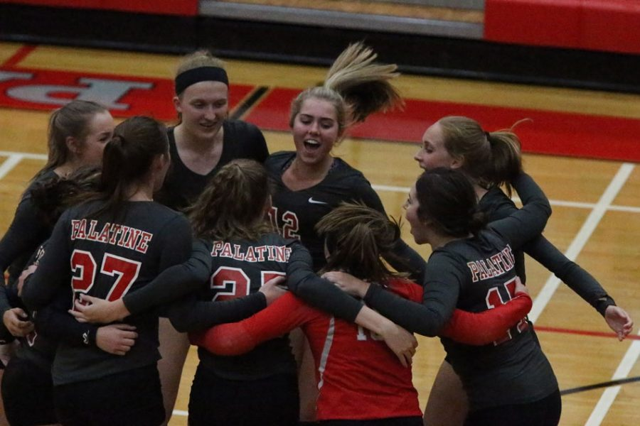 Girls varsity volleyball perserveres and thrives past doubt