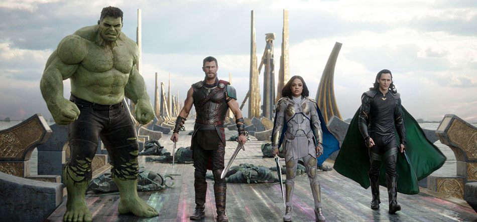 Thor: Ragnarok opens to domestic box office of $122 million dollars.