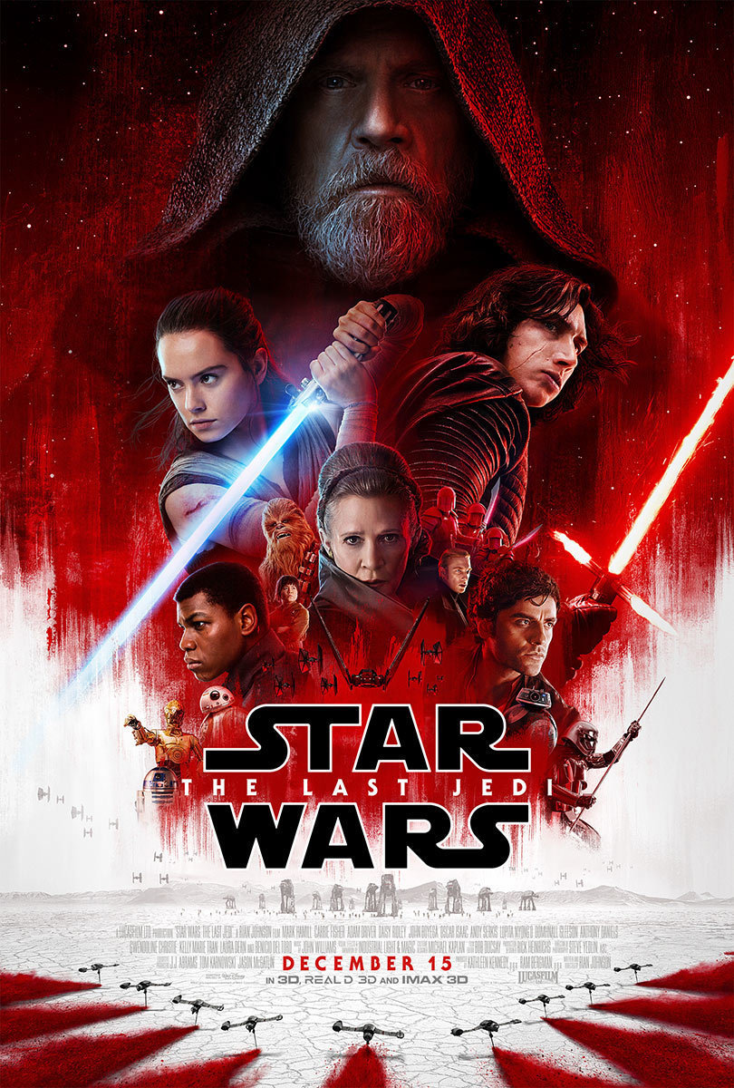 Star Wars: The Last Jedi opens in theaters this December.