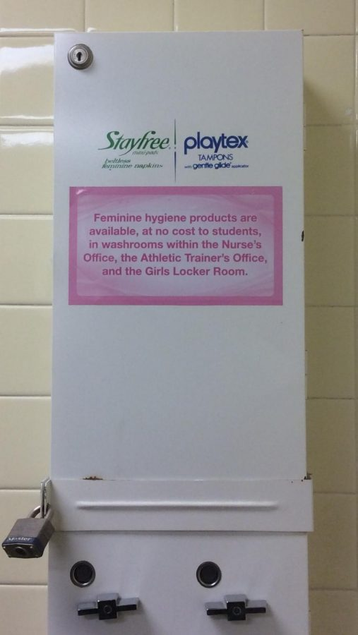 The Learn With Dignity Act mandates that school restrooms be supplied with free feminine hygiene products.