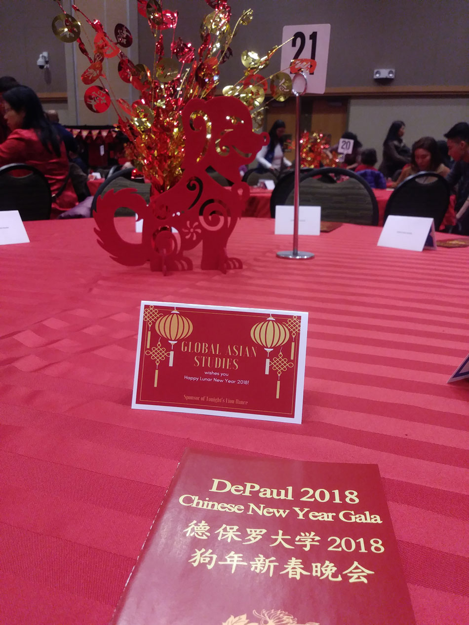 DePaul hosts a celebration for Chinese New Year.