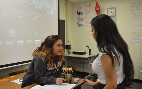 Moreno enlightens students