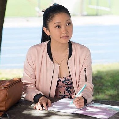 "Lana Condor stars in her first lead role as Lara Jean in ""To All the Boys I've Loved Before"""