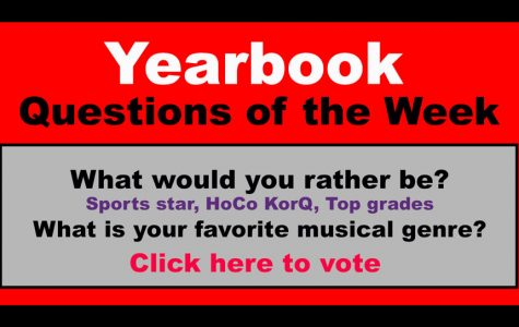 Yearbook Question of the Week!