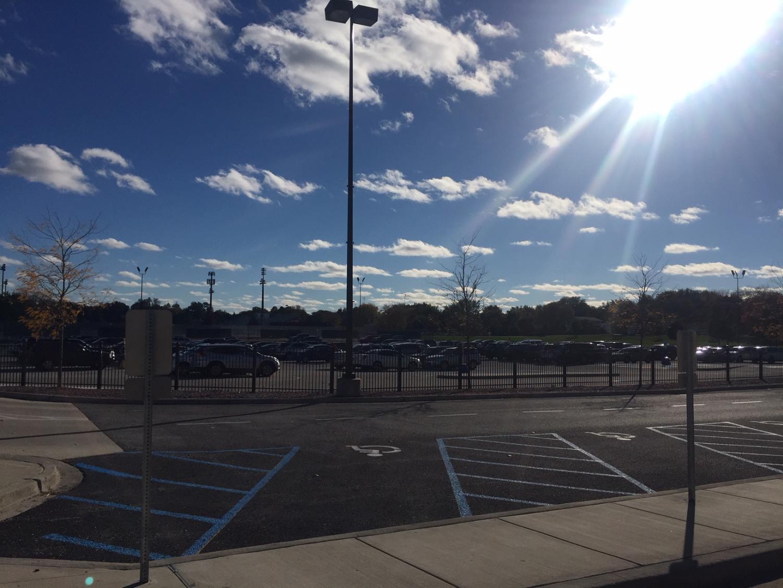 PHS parking lot