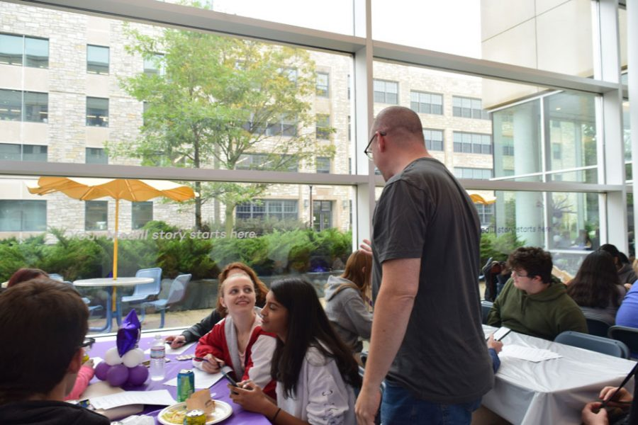 About 150 students from 15 different high school attends the Northwestern Journalism Day.