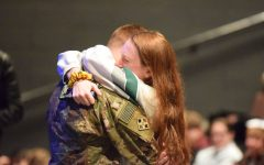 Military brother surprises PHS sister in time for Christmas