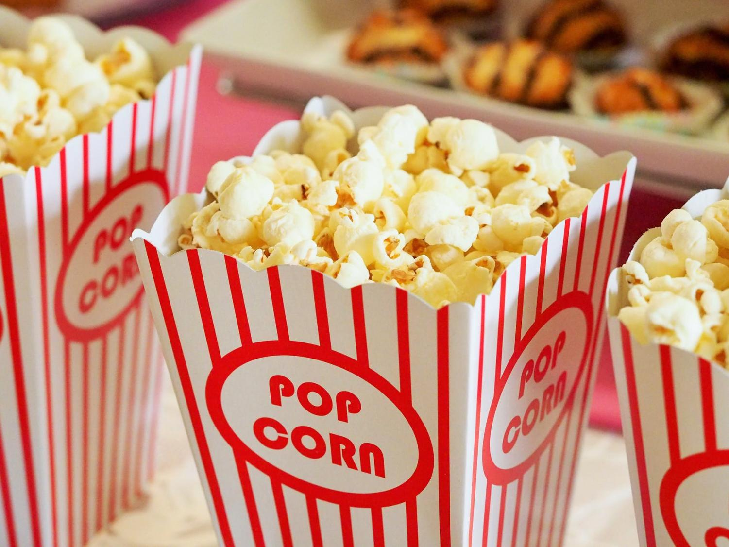 Whether you're watching at home or in theaters, popcorn is always the premier movie snack choice.