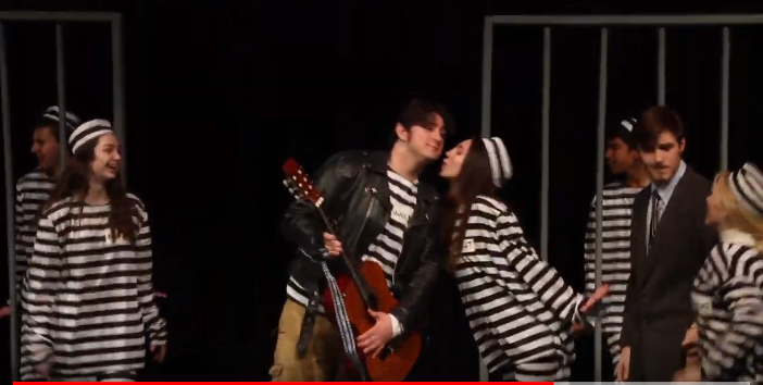 A behind the scenes look of All Shook Up!
