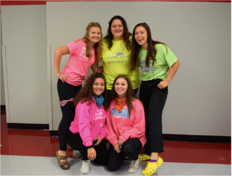 "Service club organizes ""pink out"" to support breast cancer research"