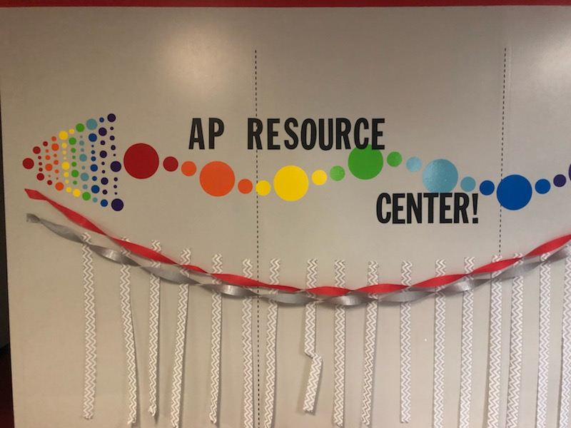 Outside of the AP Resource Center