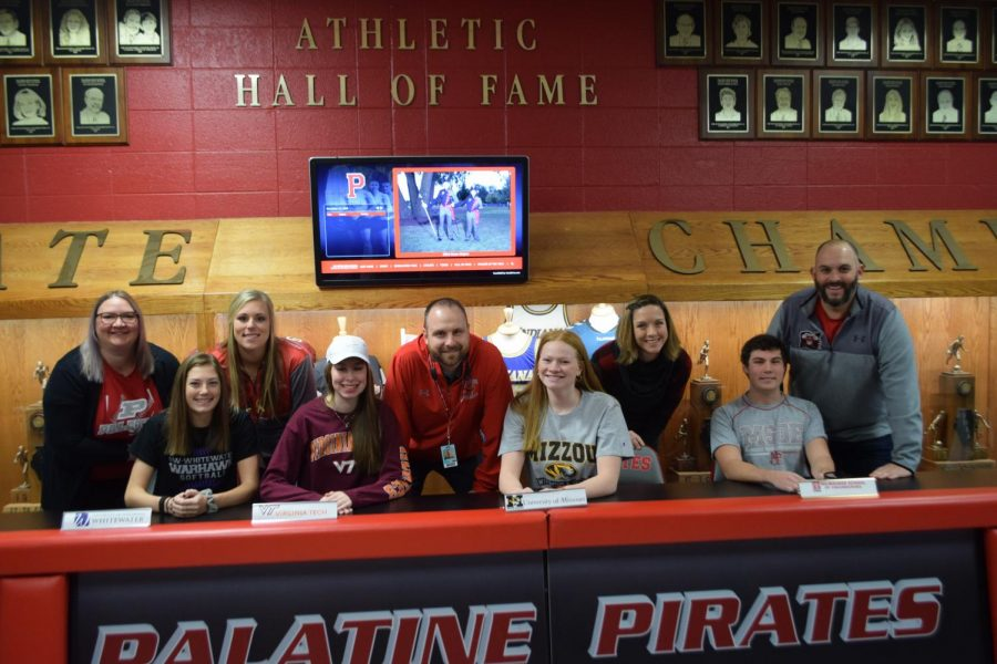 Signing day for Pirates!