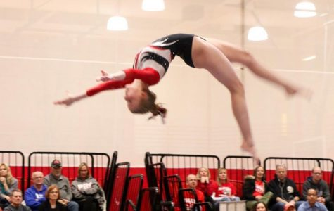 Slideshow: Girls gymnasts compete against Conant at home