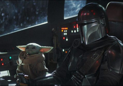 The Mandalorian with a co-pilot who launched a 1000 memes.