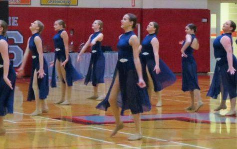 Oswego High School performs their Lyrical dance.