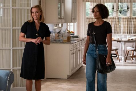 "Elena (Reese Witherspoon) and Mia (Kerry Washington) in ""Little Fires Everywhere."""