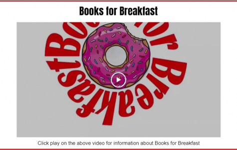 Books for Breakfast is just one of over 50 activities and sports that students can join.