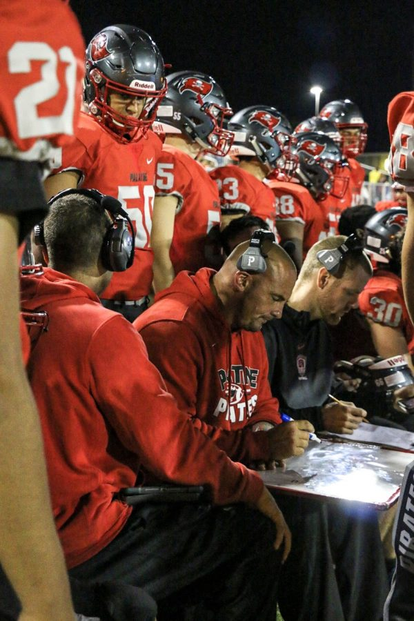 PHS Football coach strengthens athletes physically and mentally