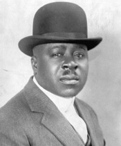 Robert Sengstacke Abbott photographed in 1919.
