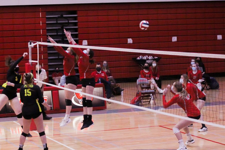 Throughout the match, the Palatine girls showed teamwork and talent that ultimately lead to a 2-0 victory over Fremd.