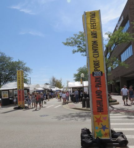 This was the 38th Port Clinton Art Festival.