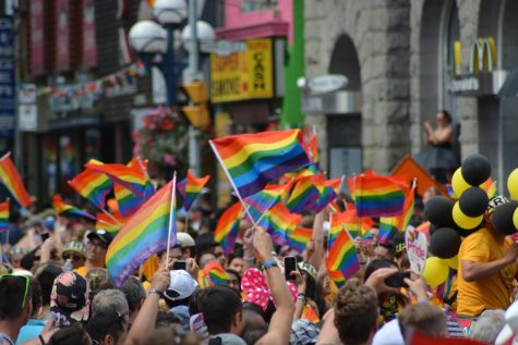 The rainbow flag has been used as a symbol for the LGBTQ+ community since 1978.